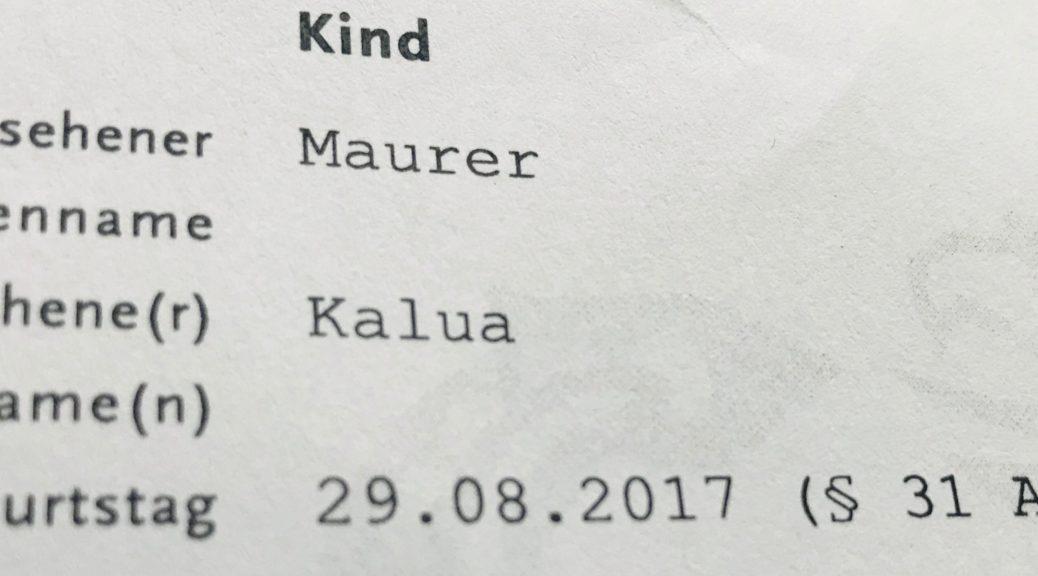 Brief an Kalua