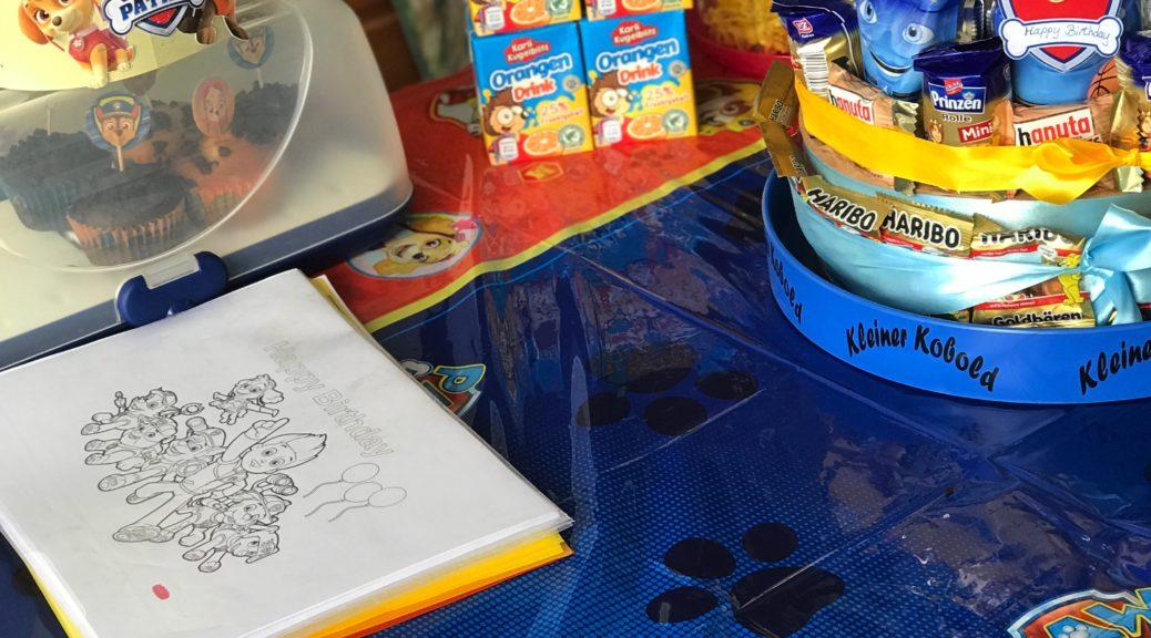 PAWty: Kindergeburtstag mit Skye & Co.